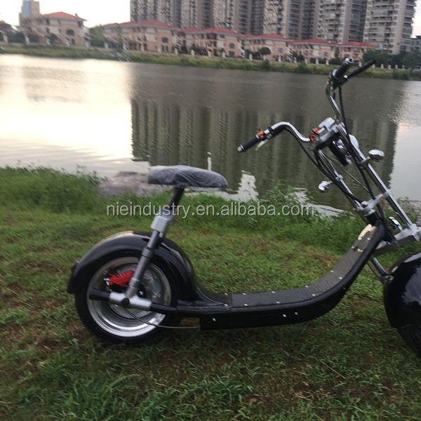 Nzita fat tire 60V 1500W foldable electric motorcycle