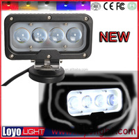 wholesale New 4D lens 40w spotlight Led square auto headlight