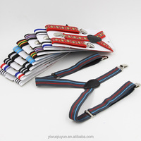 Children Suspenders Baby Boys And Girls Striped Suspenders Clip-on Y-Back Braces Elastic Kids Print Suspenders