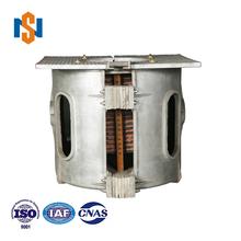 Industrial Heavy Machine Aluminum Shell Induction Melting Furnace For Metal Melting Factory