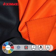 cotton flame retardant satin drill fabric