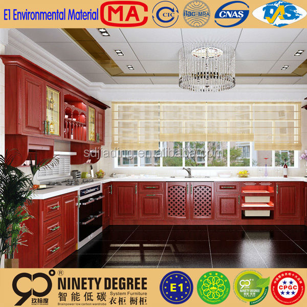Low price indoor top quality metal kitchen cabinets sale for Best quality kitchen units