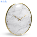 New marble design of oval/round wall clock
