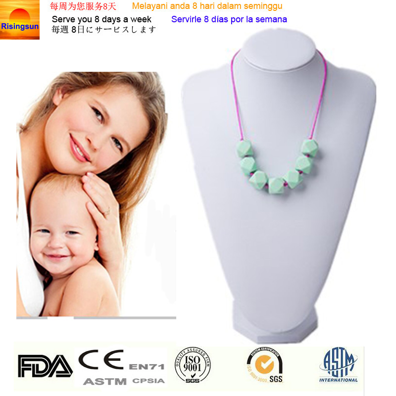 Wholesale cosmetic packaging silicon jewelry&ampwholesale charms necklace
