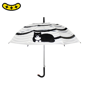 Hot sale beautiful semi-automatic folding umbrella made in China