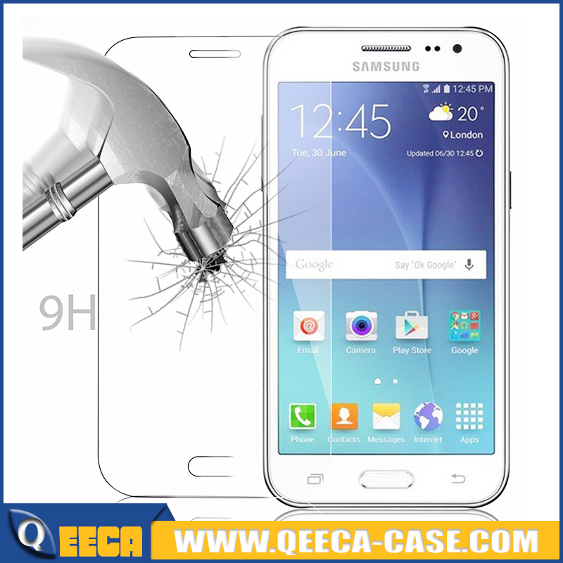 For Samsung Galaxy J2 (SM-J200) & J2 2016 J210 ULTRA CLEAR Tempered glass Screen Protector Guard Covers With packing