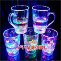 LED flash beer glass