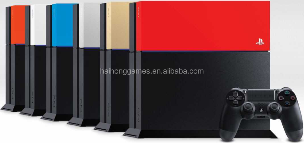 New arrival Faceplate for PS4 console (5 colors)