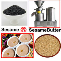 Solon offer industrial butter making machine for pepper/sesame/tomato/peanut/fruit