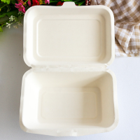 Biodegradable tableware,7 inch disposable sugarcane pulp round plates
