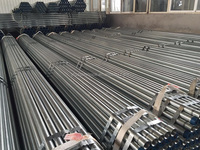 Hot Dipped Galvanized Carbon Steel Pipe with Threaded end and coupling/Groove end BS1387