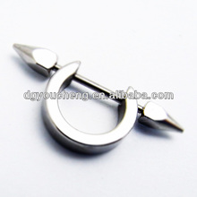 316L stainless steel nipple stretching jewelry piercing