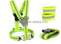 Reflective safety pets products,LED pet belt,LED pet leashes,LED belt with CE EN13356