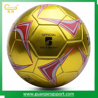 Custom Match Play Machine Sewn Soccer Ball Number 5