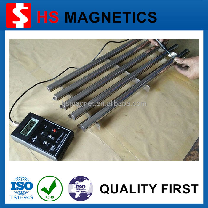 Strong High Power Water Resistant 10000-12000 Gauss Food Grade Magnet Rod Prices for Separator/Filter