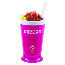 2014 hot-sale Smoothies cup of ice cream cup slush and shaker maker Smoothies cup for young and old