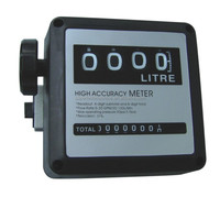 mechanical flow meter with 4 digitals subtotals and 8 digital total readouts