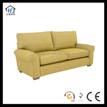 Top Quality Fabric Three Seat Sofa Corner For Living Room