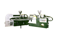Two Color Rotary Type Plastic Shoes Automatic Injection Moulding Machine