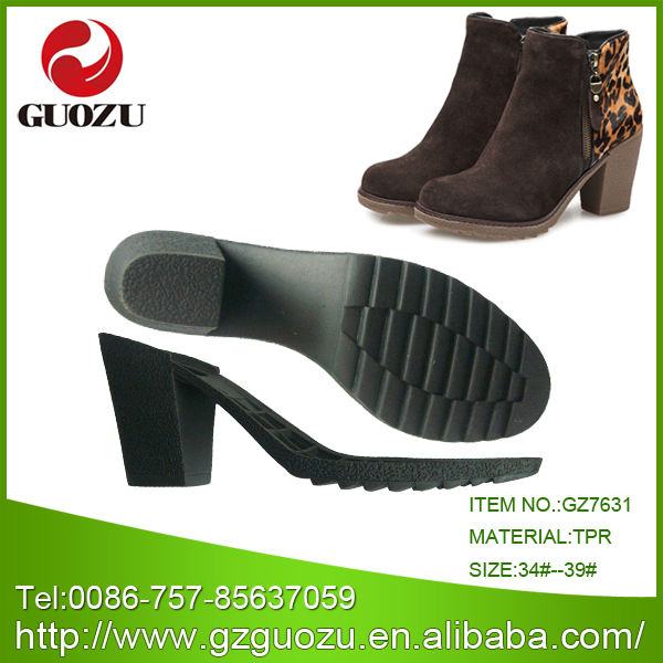 Hot sell woman short boot sole
