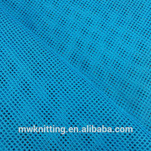good quality small eye holes Colorful 100 Polyester Water Proof Sportswear Mesh Fabric for wedding decorative