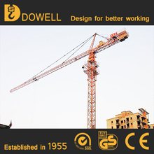 High quality self-erecting tower crane with fixing angle