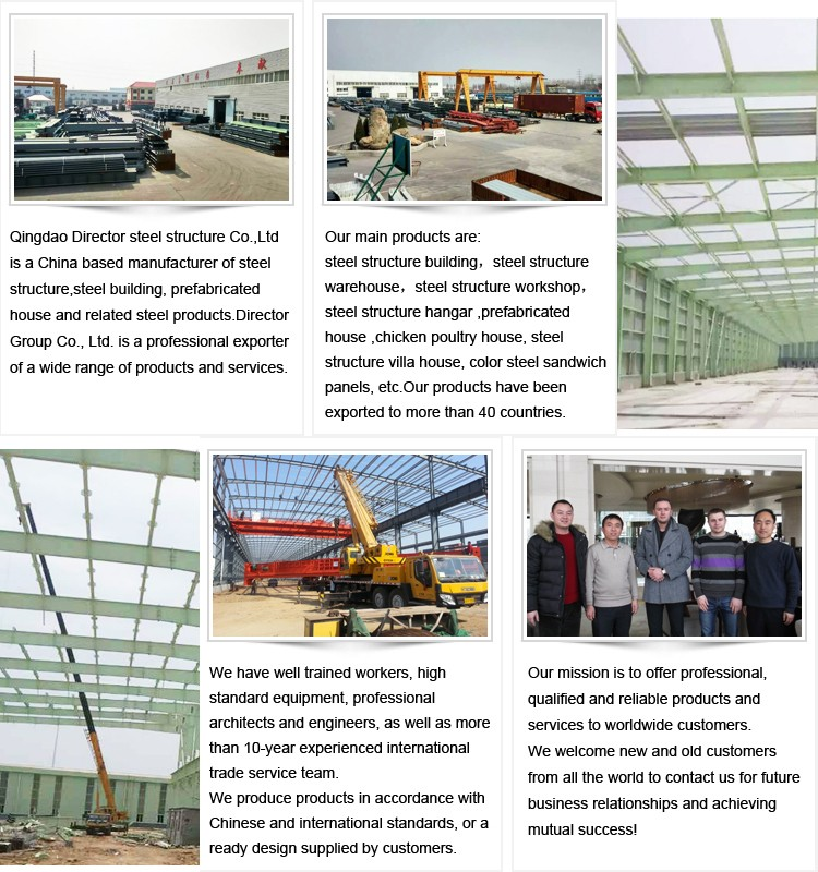 Steel structure long Span factory Warehouse Storage building