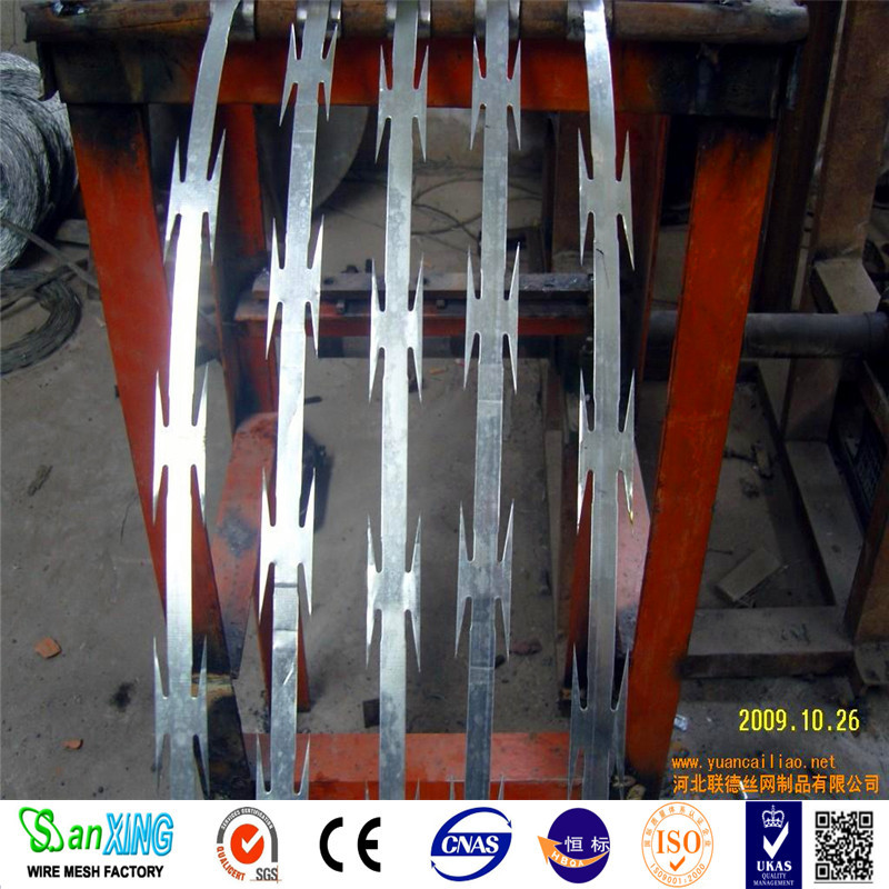 hebei top metal/ wire mesh manufacture sell razor barbed wire
