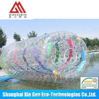 Water roller walking ball in TPU and PVC material
