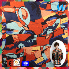 new style different types of fabric printing