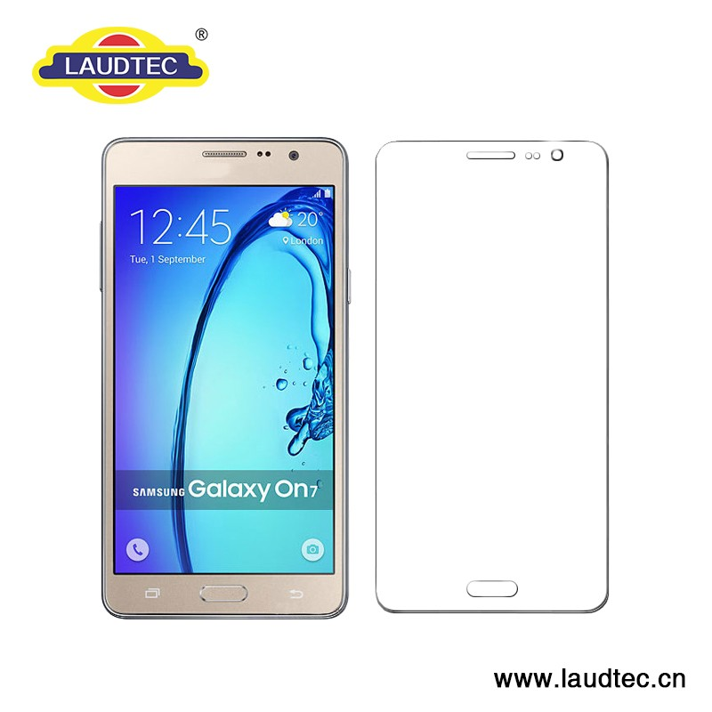 New coming glass for Samsung On7 Pro real tempered glass screen protector -------- Laudtec