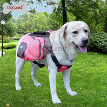 Hot-selling Foldable Pet Saddle Bag Outward Hound Travel Camping Hiking Dog Back Pack
