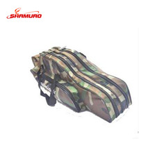 Outdoor Portable 70cm-90cm double layer sea fishing rod case Organizer Storage fishing bag rod bag