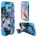for Samsung galaxy S6, combine mobile phone case with camouflage printing