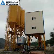 Mobile highway asphalt batching stabilized soil mixing plant