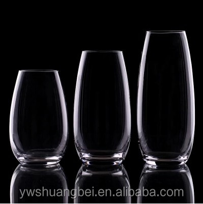 New Arrival High Quality Water Planting Crystal Glass Vase For Home&Office Decor