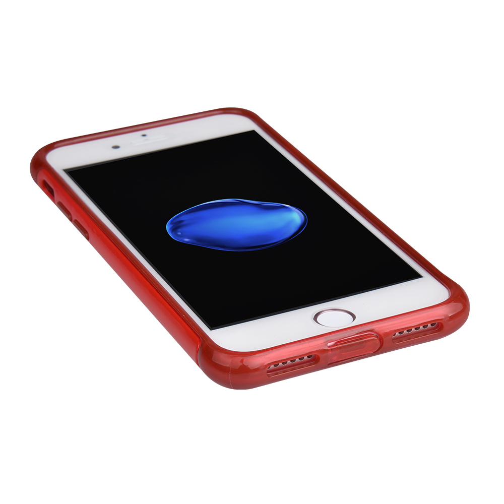 C&T 2 in 1 Drop resistance Case Hybrid Silicon Rubber Bumper Hard PC Back Shell Protective Cover for Apple iPhone 7