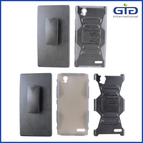 3 in 1 Cool Robot Case For Sony Z3