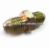 Gas pipe compression fittings hydraulic fitting pipe fitting jis gas male 60 degree cone