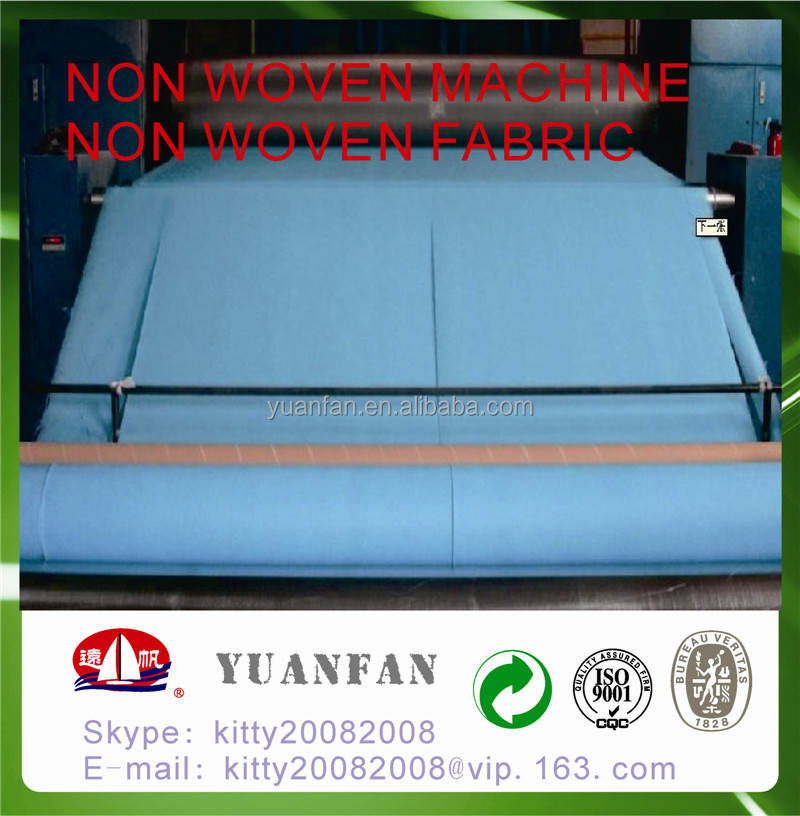 Low price SS non-woven fabric made in china zhejiang yuanfan non-woven co.,ltd./ pp SS nonwoven fabric / pp SS non woven fabric