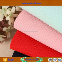 High quality full poly rubbery fabric for windbreaker woman wear material fabric textile