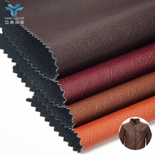 soft hand feeling PU leather raw materials for garments