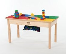 Table for Kids With Storage Net Lego Table