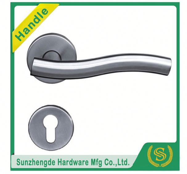 TC STH-107 America Popular Carbon Fiber Zinc Door Handle Factory