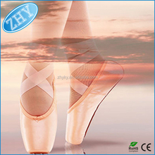 2 Pairs Silicone Gel Toe protector Cover Dance Ballet Shoe Toe Caps Pads With Breathable Hole (nude)