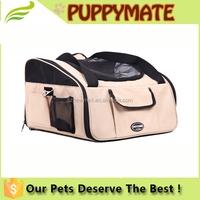 3 in 1 Travel pet carrier bag foldable ventilated cute Pet Air Box