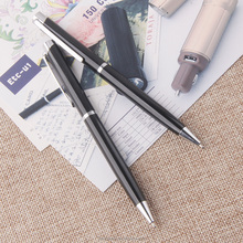 Ball pen customized clip import gift items from china metal body ballpoint pens