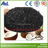 Coconut Shell Granular Activated Carbon For Citric Acid Decoloration Refining