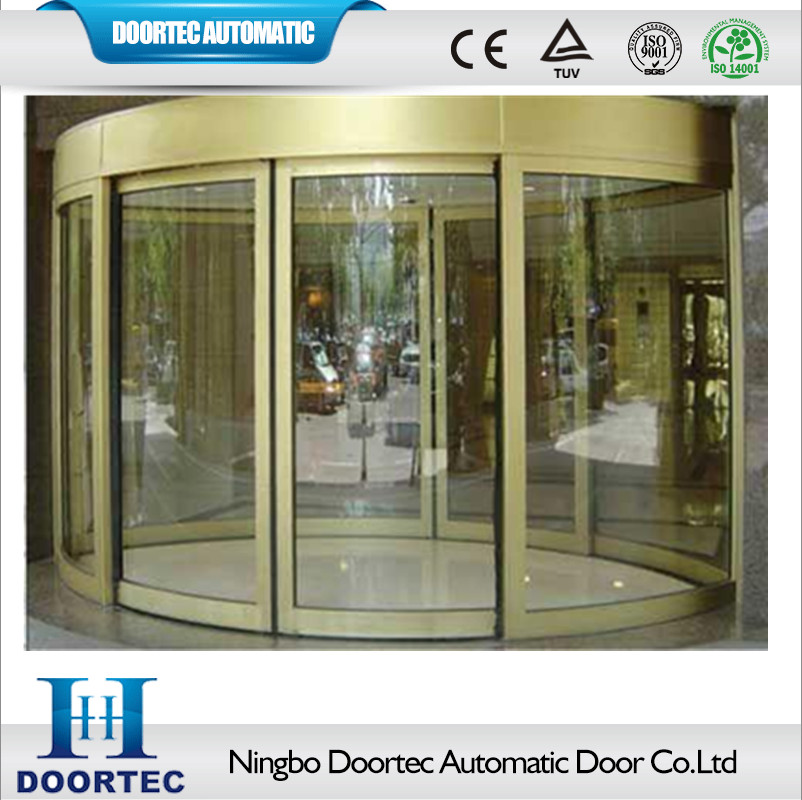 Doortec Commercial Automatic Curved Glass Sliding Doors For Hotels