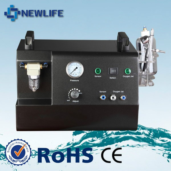 NL-HS201 Oxygen Water Oxygen jet beauty machine with water oxygen sprayer for skin whitening deep skin cleaning